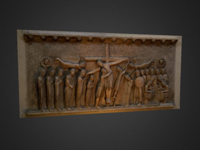 Deposizione di Benedetto Antelami conservata presso il Duomo di Parma
