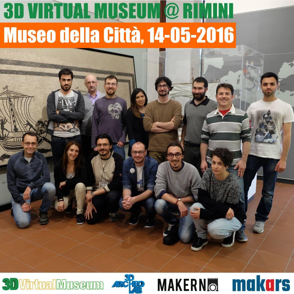 3D Virtual Museum a Rimini