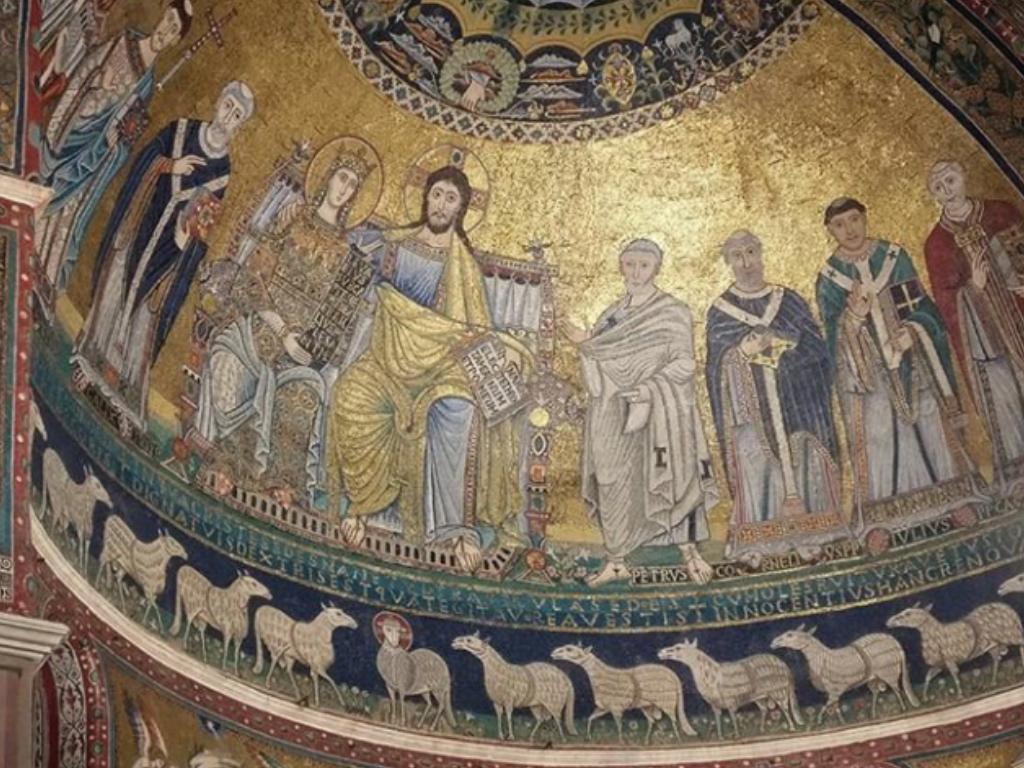 Mosaico Santa Maria in Trastevere